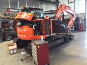 Wir führen Reparaturen aller Art an Bau-, Kommunal- und Landmaschinen aller Marken durch.
